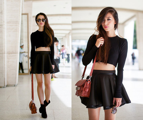 Black uniform | FASHION | Scoop.it