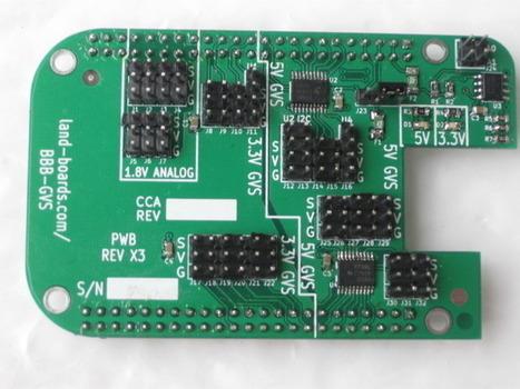 3.3V/5V GVS Sensor Cape for the Beaglebone   Raspberry Pi   Scoop.it