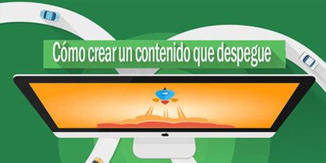 Como crear contenido y generar tráfico organico, infografia | Web hosting | Scoop.it