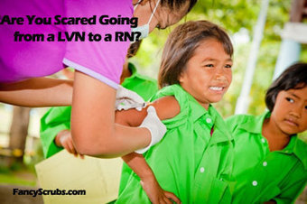 Are You Scared Going from a LVN to a RN? | Healthy Informant | Scoop.it