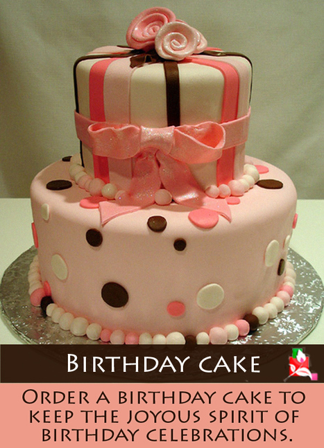 Birthday Cake - Order a birthday cake to keep the joyous spirit of birthday celebrations.   BlossomSquare   Scoop.it