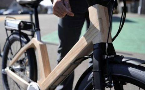 Un prototype de vélo électrique en bois testé dans les Vosges   Actu de la production forestiere française par François ROUSSELIN   Scoop.it