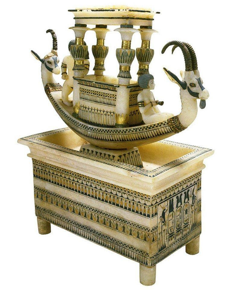 Beautiful alabaster boat | Egyptology and Archaeology | Scoop.it