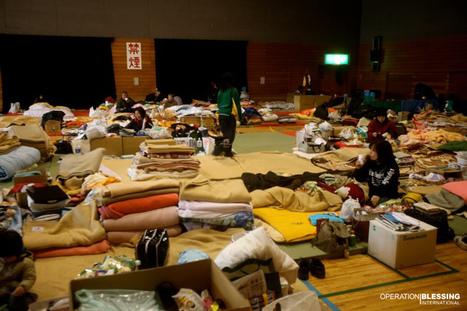 [Photo] Un centre d'hébergement à Shiogama | Flickr - Photo Sharing! | Japon : séisme, tsunami & conséquences | Scoop.it