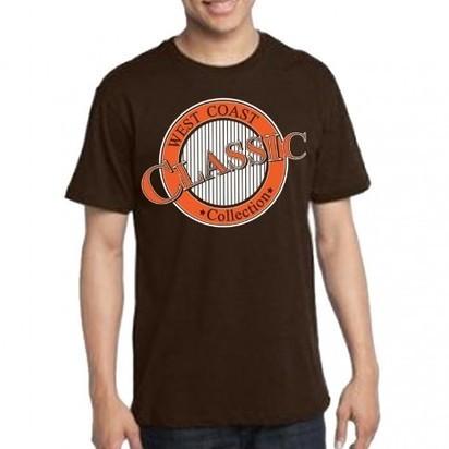 West Coast Classic (Chocolate) | California T-Shirts For Men | Scoop.it