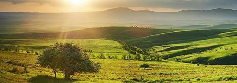 Twitter / extrodnary: Sunset pano, Southern Kazakhstan, ... | Travelling with Nikon | Scoop.it