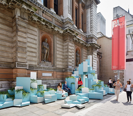 SO? architecture and ideas stack ceramic hill at the royal academy of arts | What's new in Design + Architecture? | Scoop.it