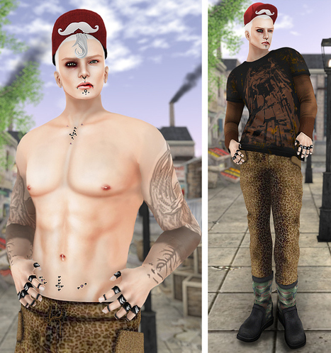 #40 - Tableau Vivant and more TAE | Second Life Male Freebies | Scoop.it