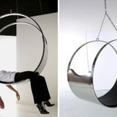 Circular Stainless Steel Zed Chair | Home Centrl interiors | Scoop.it
