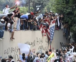 Anti-Islam film sparks Libya, Egypt protests   Camille's McG Geography   Scoop.it