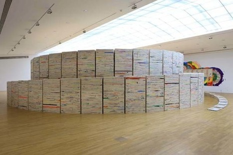 Richard Jackson: 5050 Stacked Paintings | Art Installations, Sculpture, Contemporary Art | Scoop.it