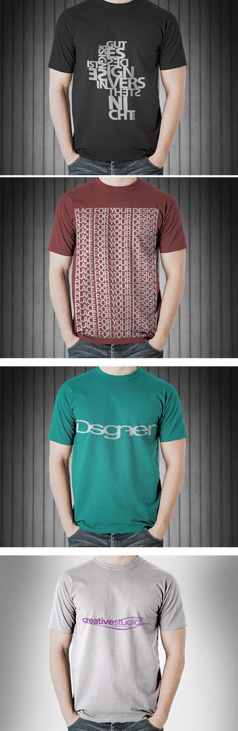 20+ Best Free T-Shirt Mockup PSD Templates | Designer's Resources | Scoop.it