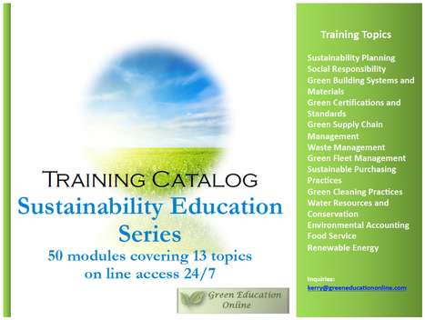 Sustainability Education Online! | Education for Sustainable Development | Scoop.it