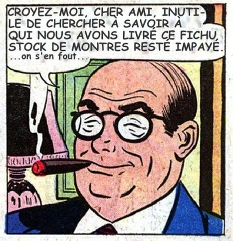 LES CHRONIQUES DE M. L'ACTIONNAIRE # 15 «Ces petits comptables ne comprennent décidément rien à la magie des montres » | BUSINESS MONTRES MEDIAFACTURE | Scoop.it