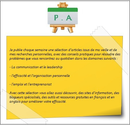La sélection proactive n°37 - Proactive Activity | P.A | Améliorer son efficacité | Scoop.it