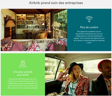Airbnb et Uber à l'assaut du tourisme d'affaires | Les réseaux sociaux professionnels | Scoop.it
