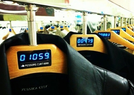 Brazil retailer using Facebook likes… on its clothing hangers | Startup Ideas | Scoop.it