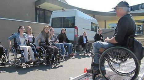 Les lycéens de première sensibilisés aux handicaps   Le lycée agricole de Caulnes   Scoop.it