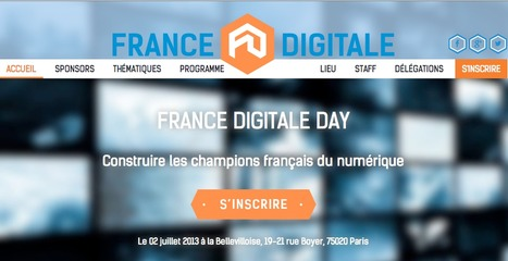 France Digitale Day | 02 Juillet 2013 | France Digitale | Scoop.it