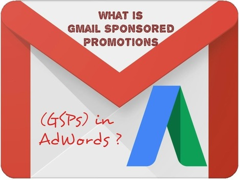 What is Gmail Sponsored Promotions (GSPs) in AdWords ? | SEM & Adwords: Learning.it | Scoop.it