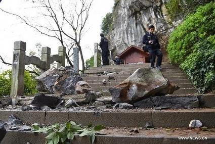 Rockfall in China kills 7, injures 19 including Taiwan tourists | Recent Natural Disasters | Emergencies | Hazards | Calamities | Recent Natural Disasters | Scoop.it