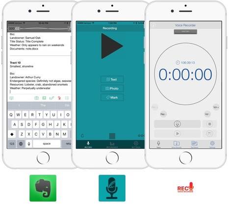 Best voice recording apps for iPhone and iPad | iPhoneography-Today | Scoop.it