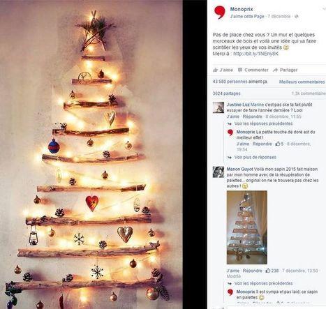 Facebook, Pinterest, Instagram, Monoprix décrypte sa stratégie sur les réseaux sociaux | Going social | Scoop.it