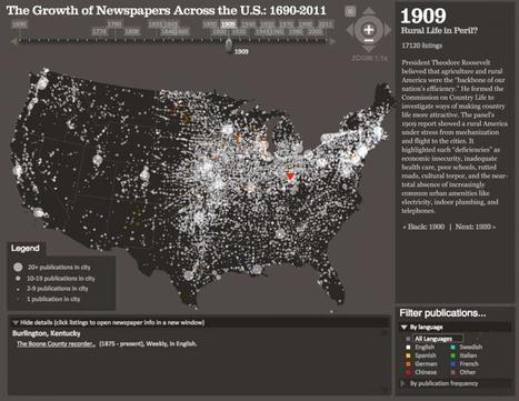 Data Visualization: Journalism's Voyage West   Navigate   Scoop.it