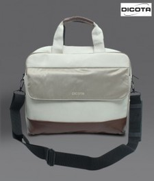 Dicota Glossy White & Brown Laptop Bag - Bags - Accessories - Fashion | Buy computers | Scoop.it