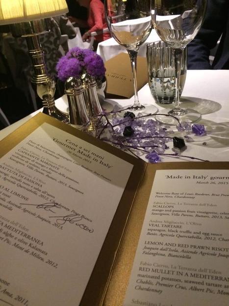 CIERVO, MIGLIACCIO, LOMBARDI: la cena a sei mani per la serata gourmet alla Terrazza dell'Hotel Eden a Roma. | EATING AND COOKING. | Scoop.it