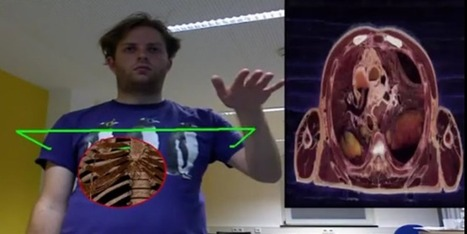 Kinect is Used to Develop an Augmented Reality Mirror for Teaching Anatomy | KINECT APPS - GAMES | Scoop.it