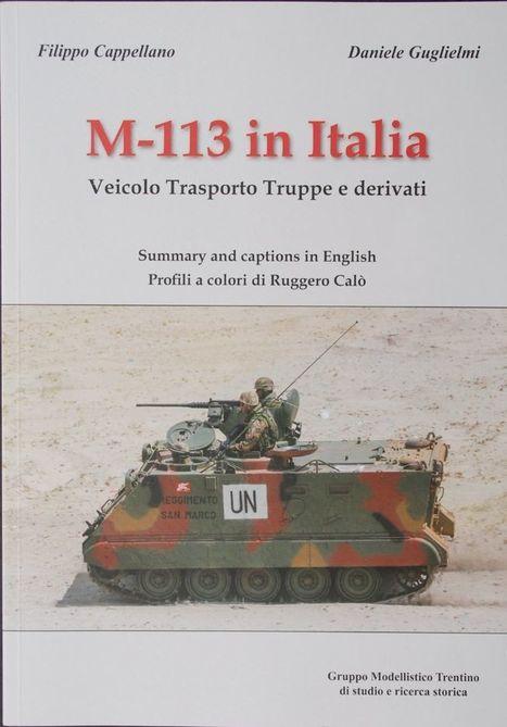M113 in Italian Service... - Books | Francois' Scale Modeling Gazette | Scoop.it