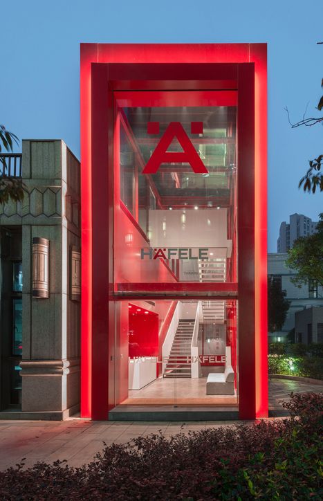 AIM architecture transforms underground parking lot into häfele showroom | Inspired By Design | Scoop.it