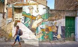 Street art Sardinia: the myth and magic of Orgosolo's murals | Travel Bites &... News | Scoop.it