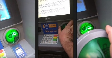 Researcher spots an ATM Skimmer while on vacation in Vienna | Jeff Morris | Scoop.it