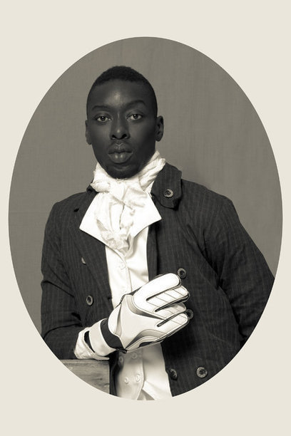 African Diasporas, Senegalese photographer  recreatw portraits made centuries ago of Africans in Europe | Black Fashion Designers | Scoop.it