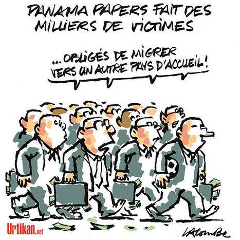 Panamapapers : pauvres riches ! | Dessinateurs de presse | Scoop.it