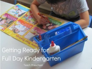 Helping your child get ready for full day kindergarten | Teach Preschool | Scoop.it