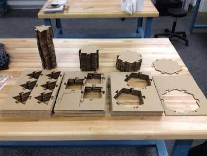 2Plex Laser Cut Construction Kit | Big and Open Data, FabLab, Internet of things | Scoop.it