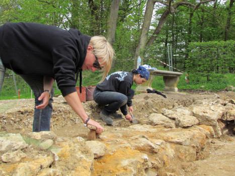 Mais que cherchent les archéologues dans le domaine de Marly ...   L'actu culturelle   Scoop.it