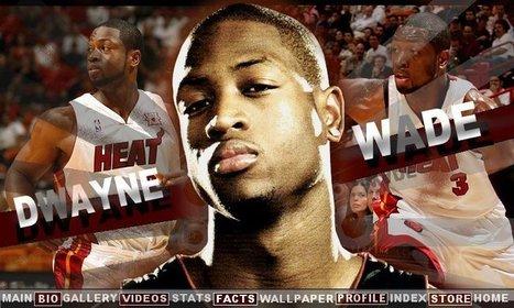 Dwyane Wade Facts   Official Website of BBallOne.com   TN Dwyane Wade   Scoop.it