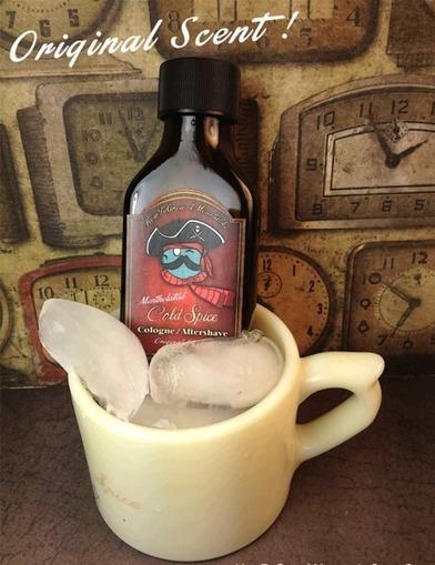 Cold Spice Aftershave / Cologne (Contains Menthol & Alum) | Wet Shaving | Scoop.it