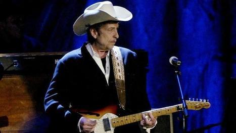 Le prix Nobel de littérature attribué au chanteur Bob Dylan | lectures | Scoop.it