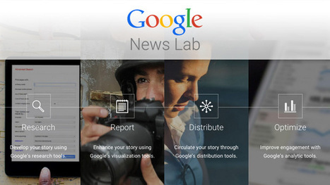 Storytelling-Nachhilfe für Journalisten: Google startet News Lab | Mediaclub | Scoop.it