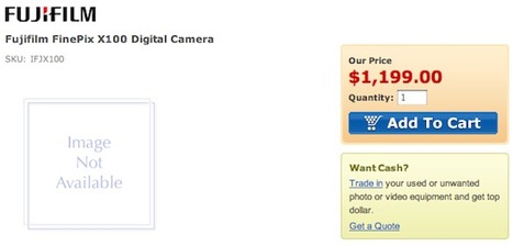 Fuji X100 now available for pre-order | Photography Gear News | Scoop.it