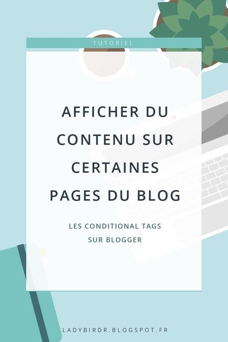 Afficher du contenu sur certaines pages du blog sur Blogger - Lady bird red | Freewares | Scoop.it