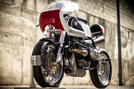 Radical BMW R90 Interceptor | Cafe Racers | Scoop.it