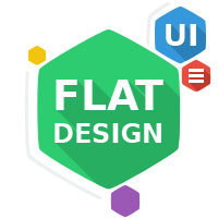 F-Post: 30+ Fantastic Sets of Flat Icons, Buttons and UI Kits   Tools, Plugins and Freebie for Web Design and Development   Scoop.it