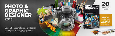 Magix Photos & Graphic Designer 2013 gratuit avec TousGeeks et Magix | TousGeeks | Scoop.it