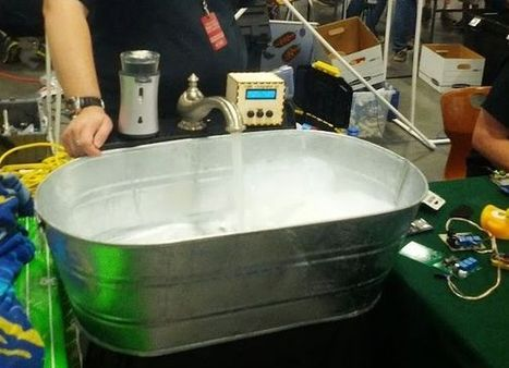 The Bathtub Becomes Automated and Arduino-Compatible | Raspberry Pi | Scoop.it